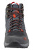 The North Face Hedgehog Hike Mid GTX Shoes Men dark shadow grey/zion orange
